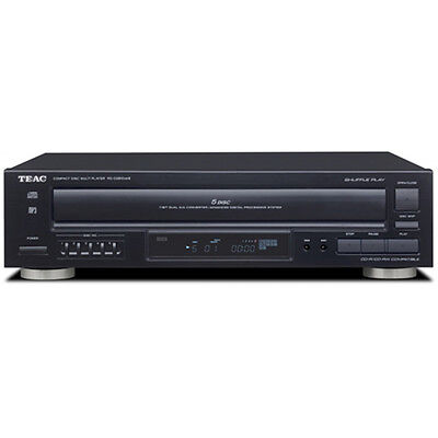 Teac PD-D2610MKII 5-Disc Carousel CD Player with Remote