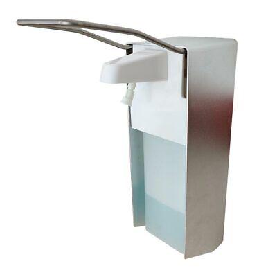500ML Desinfektionsmittelspender Wand Eurospender Seifenspender Edelstahl Griff