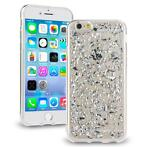Scattered Glitter case zilver iPhone 6 / 6S