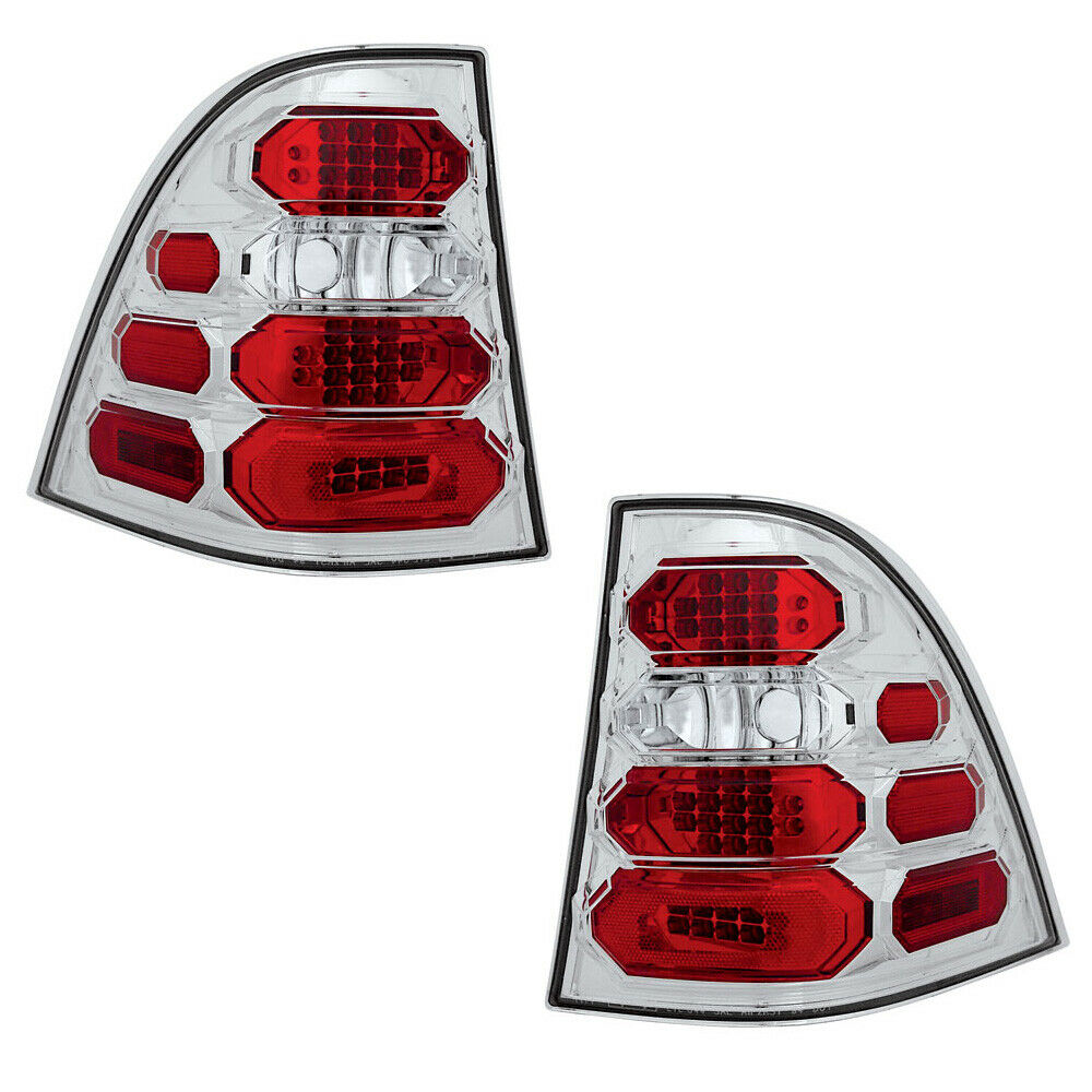 New Chrome Led Tail Lights For 98