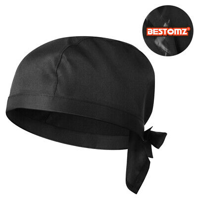 Breathable Chef Hat Adjustable Catering Chefs Cook Hat Pirate Waiter Uniform Cap
