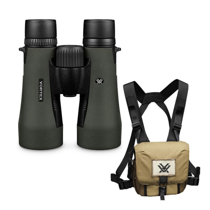 Vortex 10x50 Diamondback HD Roof Prism Binoculars with GlassPak Harness Case