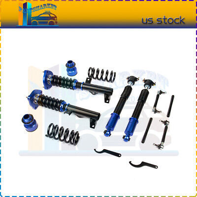 For 2008-2014 Mercedes-Benz C-Class C250 Coilovers Suspension Spring Adj Height