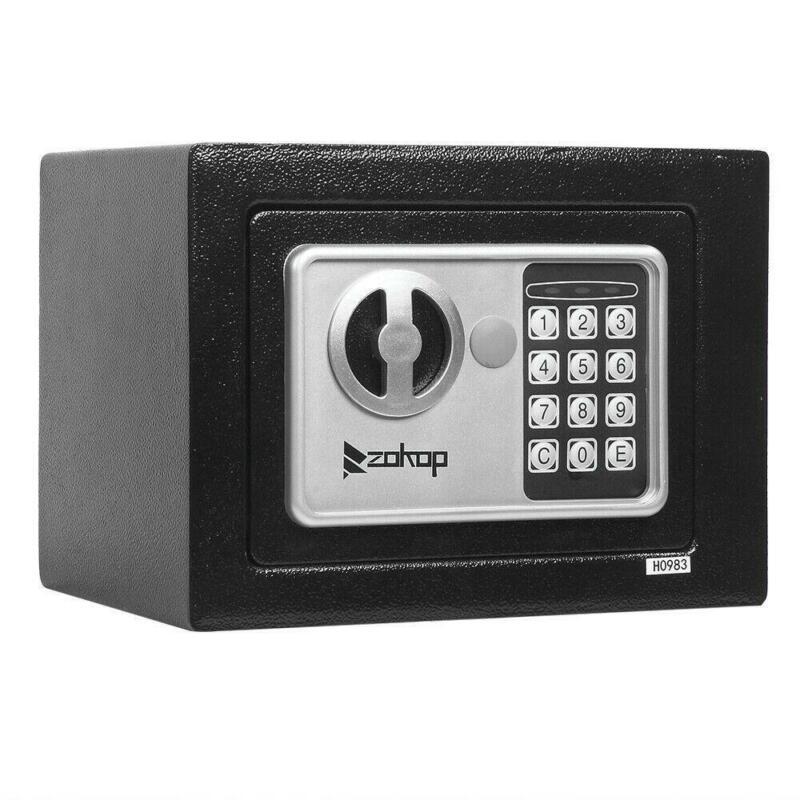 "Electronic Digital Home 9"" Security Office Money Jewelry Gun Keypad Safe Box"