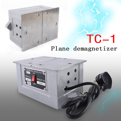 Tc-1 Desktop Demagnetization Degaussing Machine Demagnetizer Tool Metal Plane