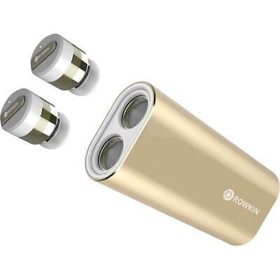 Rowkin - Bit Charge Stereo True Wireless In-Ear Headphones - Gold