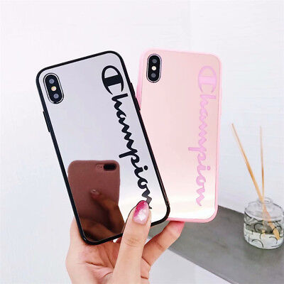 Luxury Jelly Mirror Silicon PC Case Cover Holder Stand For iPhone Xs 8Plus 7 6S