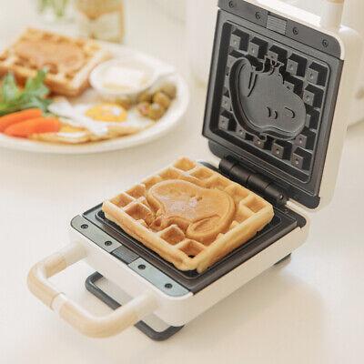 Peanuts Snoopy Sandwich Waffle Maker Desert Cooker Home Kitchen Appliance Cafe