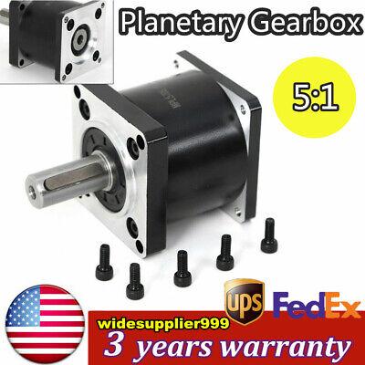 51 Planetary Gearbox Nema23 Speed Reducer Gear Head For Stepper Motor 57mm
