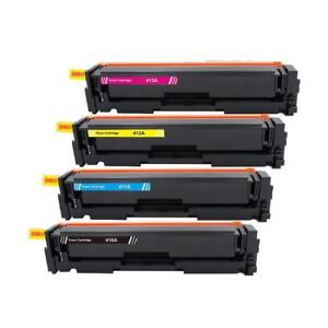 New Compatible Color Toners for HP CF410A/411A/412A/413A HP M452dn M452dw M452nw M377dw M477fdn M477fdw M477fnw $42each