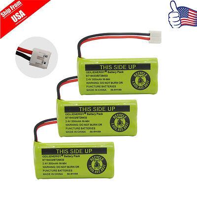 Купить 3x Cordless Battery For AT&T/Lucent BT184342 BT18433 BT28433 3101 BT-8000 USA