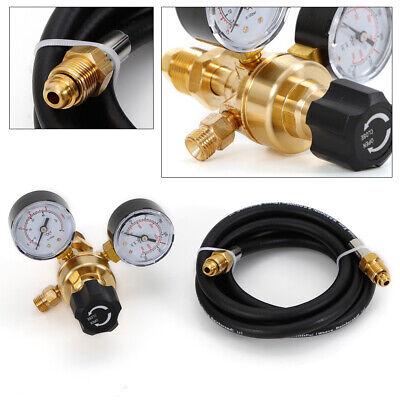Argon Co2 Mig Tig Flow Meter Regulator Welding Gas Welder Gauge6 Hose Cga 580
