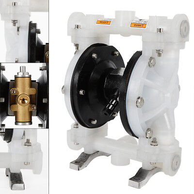 Double Diaphragm Pump Air-operated 12 Inlet Outlet Pump Polypropylene Nice
