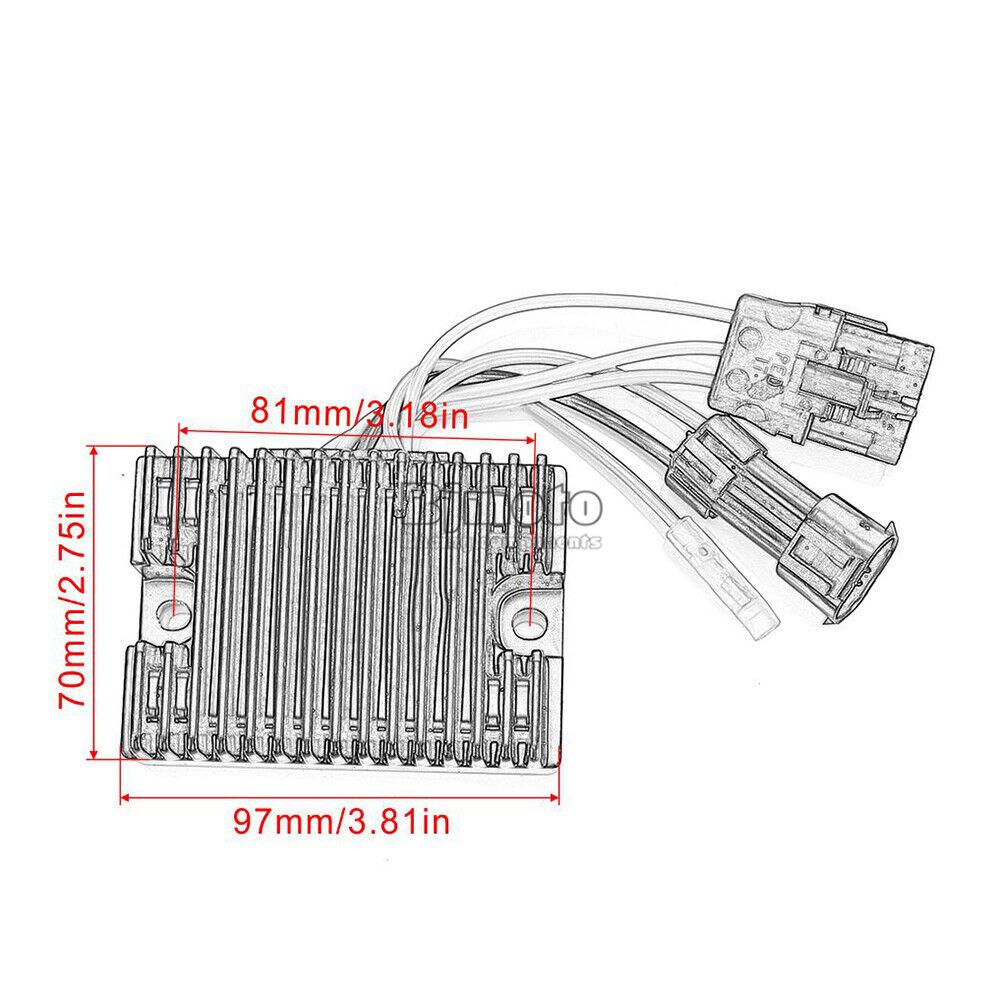 Voltage Rectifier Regulator For Polaris Hawkeye 400 HO