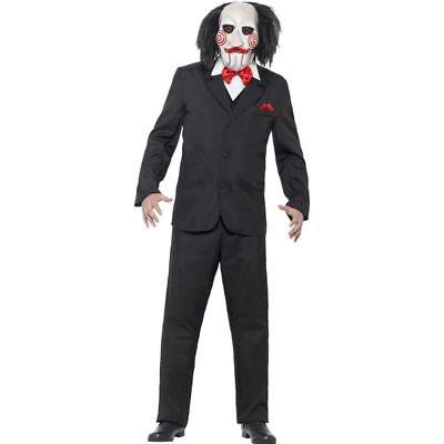 Smi - Saw Herren Kostüm Jigsaw Karneval Fasching - Jigsaw Saw Kostüm