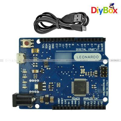 Leonardo R3 Pro Micro Atmega32u4 Board For Arduino Compatible Ideusb Cable