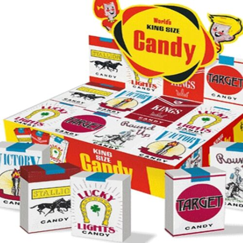 Candy Cigarettes 24 Count Nostalgic Candy Candies Fresh 1 Box