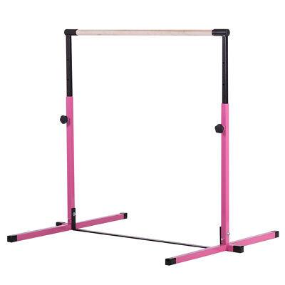 Used, Pink Adjustable Horizontal Bar Gymnastics Junior Kip Bar for sale  Lansing
