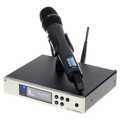 SENNHEISER EW100 G4-835-S Evolution Wireless Rack Vocal Mic System Built-in EQ