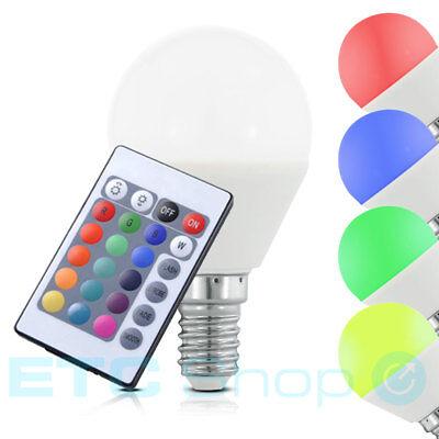 RGB LED E14 Leuchtmittel dimmbar 4 W Farbwechsel 300 Lumen Lampe Living-XXL