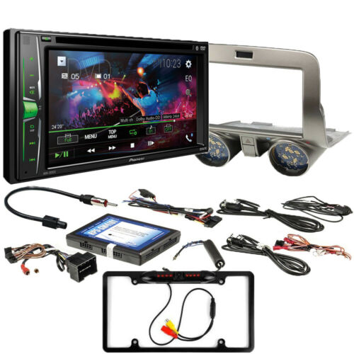 Pioneer In-Dash 2-DIN DVD Receiver / RPK5-GM4101 fits Chevrolet Camaro 2010-15