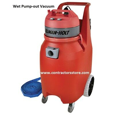 Pullman Holt Wet Pump Out Vacuum 2 Hp 20 Gal