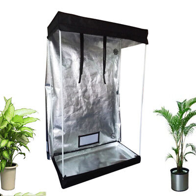 "100% Reflective Mylar 48""x 24""x 72"" Hydroponics Indoor Grow Tent Garden Tool New"