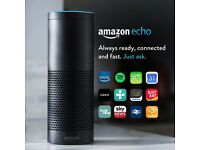 Amazon Echo, Black - Brand new
