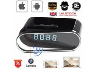 Mini WIFI 1080P Night Vision HD Spy Hidden Camera Clock P2P Motion Detection OE