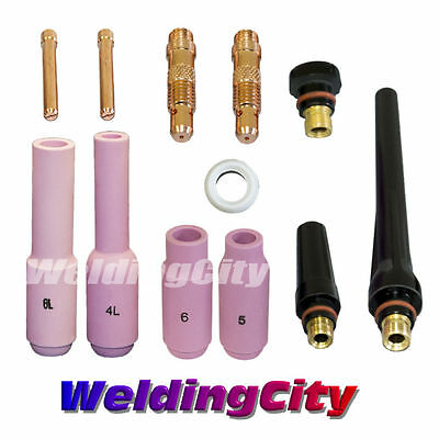 Tig Welding Regular Setup Accessory Kit 116 Torch 171826 T9b Us Seller