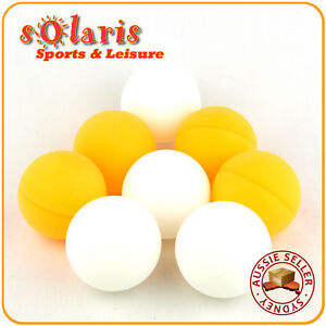 44mm-Large-Table-Tennis-Balls-Training-Ping-Pong-4x-White-4x-Orange