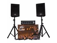 Peavey Audio Performer Pack fully flight cased - ready to go small performance PA system