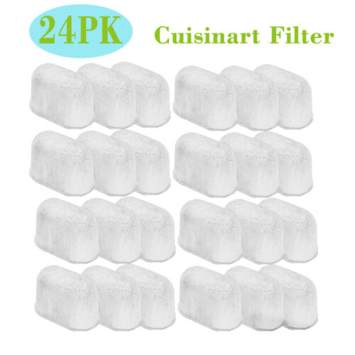 24PCS Cuisinart Coffee Filter DCC-3200 Coffee Maker Charcoal