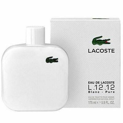 EAU DE LACOSTE BLANC BY LACOSTE 5.9 OZ EDT SPRAY *MEN'S PERFUME* NEW SEALED BOX