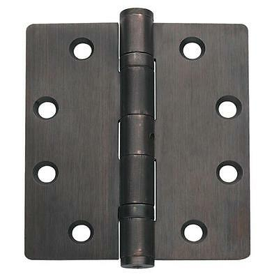 Bronze Ball Bearing Non Removable Pin Residential Door Hinge 3 Pack Hinges Lot Bronze Non Removable Pin