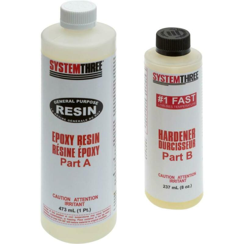 System Three T30550 General Purpose Epoxy Kit #1, 1.5 Pint