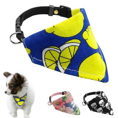 Soft Bandana-Style Dog Collars Halloween Pet Cat Puppy Neckerchief Neck Scarf - Halloween Pet Collars