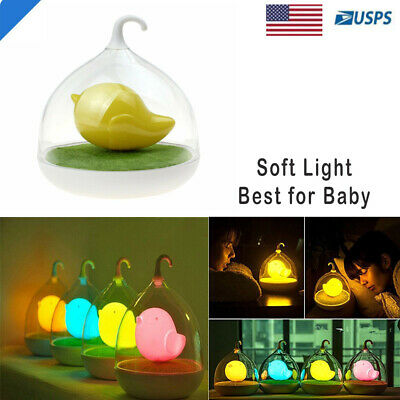 Sleeping LED Night Light Table Lamp Baby Kids Room Decor Best
