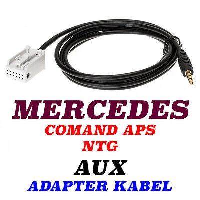 Mercedes Comand APS NTG Audio 20,30,50 AUX Cable Adapter Kabel A,B,CLK,M,R,S,CLK