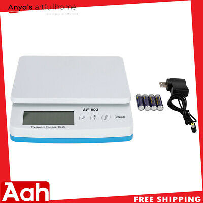 30kg 66lb X 0.1oz Postal Scale Digital Shipping Mail Packages Weigh With Adapter