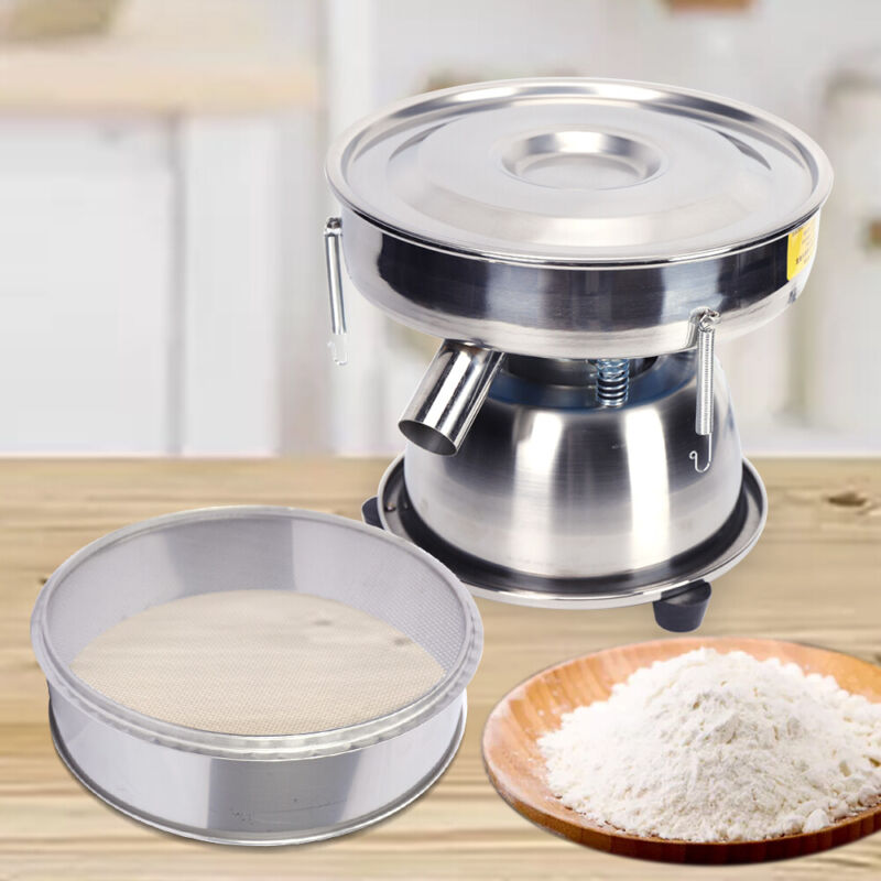 300mm Electric Sieve Shaker Automatic Vibrating Screen Machine Food Sifter/MESH