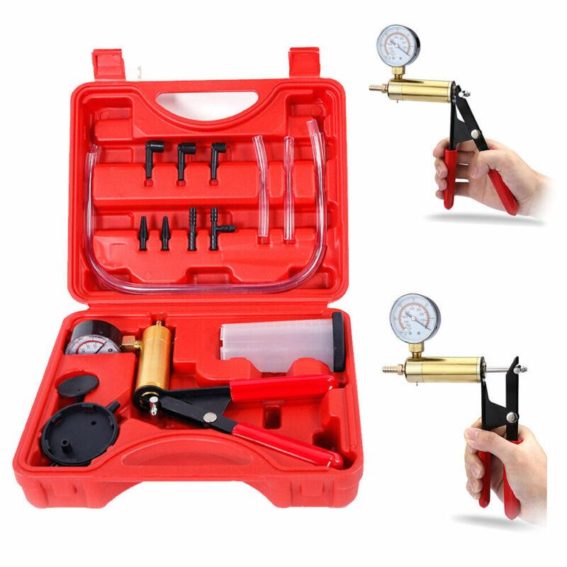 Hand Held Vacuum Pressure Pump Tester Set Kit + Box