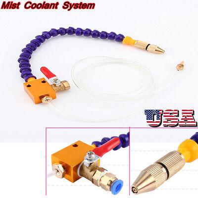 8mm Mist Coolant Lubrication Spray System Cnc Lathe Metal Milling Machine Us