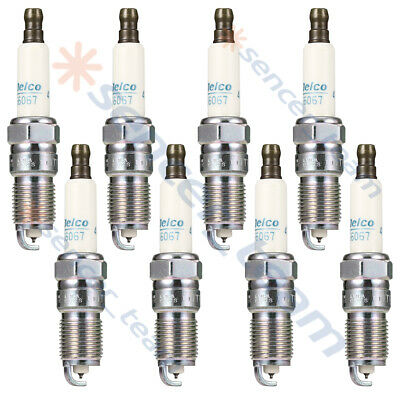 Set Of 8 PCS Brand New Iridium Spark Plugs For Chevrolet GMC Pontiac