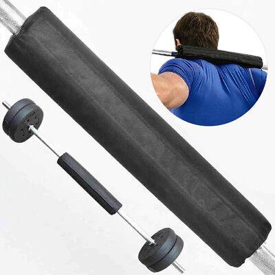 Foam Barbell Bar Rest Pad Squat Weight Lift Back Shoulder Best Support Bar