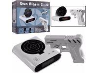 Gun Alarm Clock, Table Desk Clock, Timer, Novelty Gifts,New