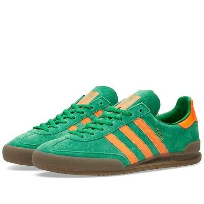 adidas Originals Jeans Trainers Green Orange S79996