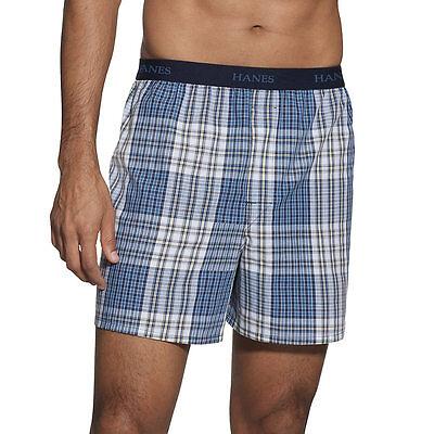 Hanes Classics Mens Boxer (Hanes Classics Men's TAGLESS Boxer with Comfort Flex Waistband 5-Pack)