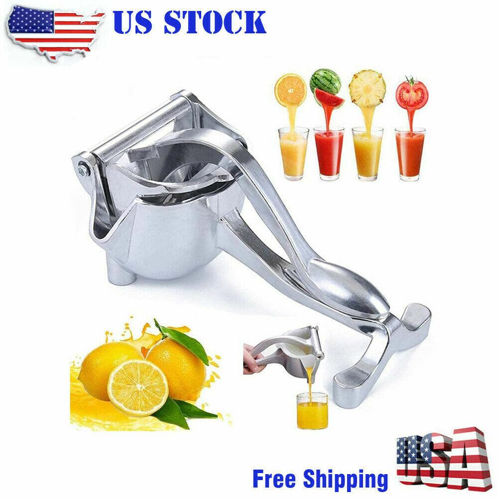 Heavy Duty Manual Fruit Juicer Press Lemon Squeezer Premium Extractor Hand Home & Garden