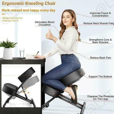Adjustable Ergonomic Kneeling Chair Posture Chair Stool For Home Office E 01